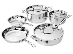 ihocon: Cuisinart Multiclad Pro Cookware Set (8-Piece) 不銹鋼鍋組