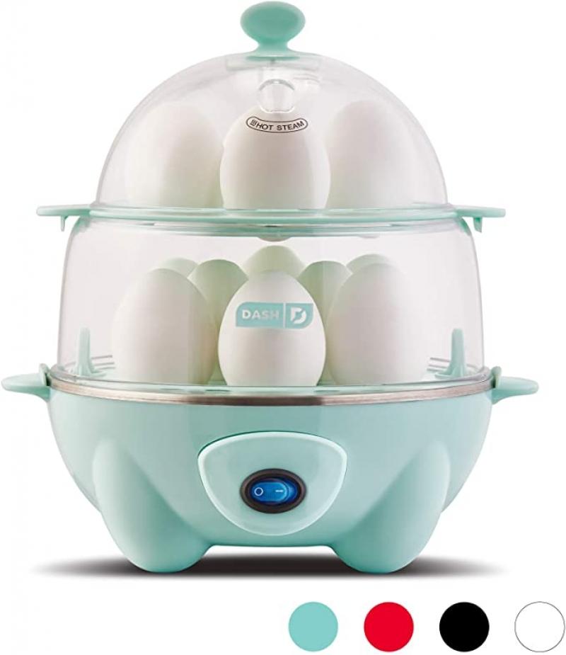 ihocon: Dash Deluxe Rapid Egg Cooker雙層電動煮蛋機-多色可選
