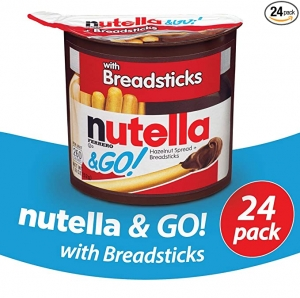 Nutella and Go Snack Packs 24個 $19.92(原價$20.97)