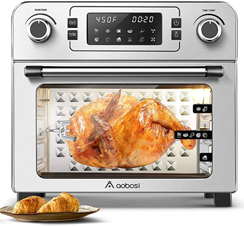 ihocon: Aobosi 10-in-1 Air Fryer Oven 24Qt 1700W 氣炸烤箱