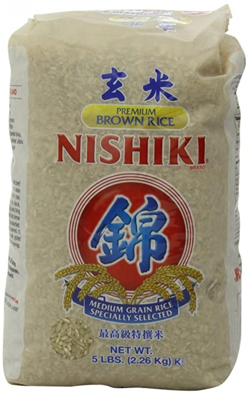 ihocon: NISHIKI Premium Brown Rice, 5-Pound 糙米