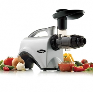 ihocon: Omega NC800HDS Quiet Motor Slow Masticating Dual-Stage Juicer Extractor and Nutrition Center慢磨榨汁機
