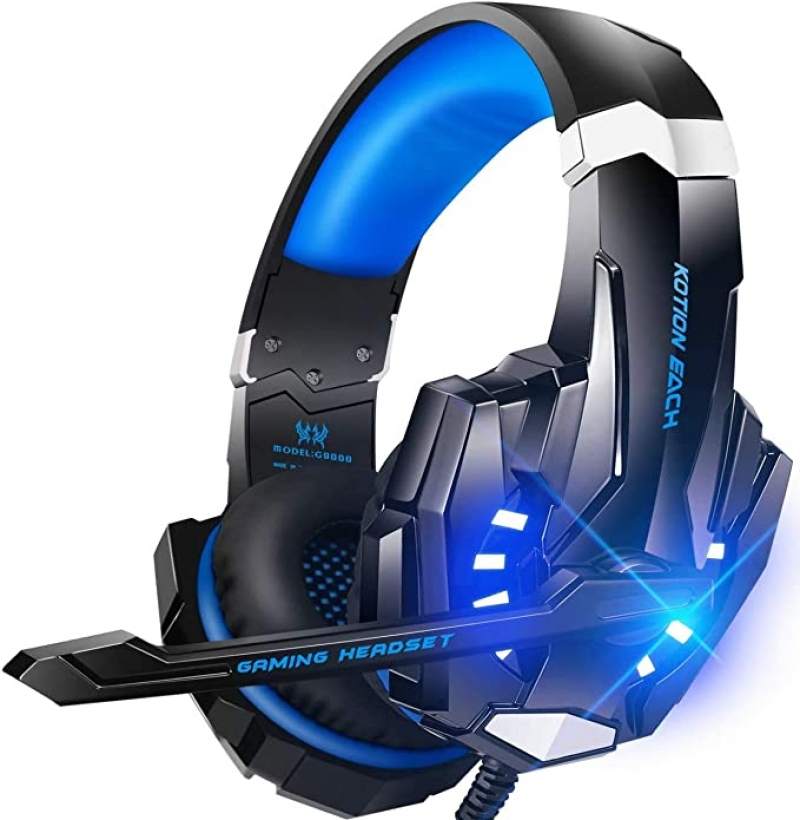ihocon: BENGOO G9000 Stereo Gaming Headset, Noise Cancelling with Mic 消噪遊戲耳機(有線)