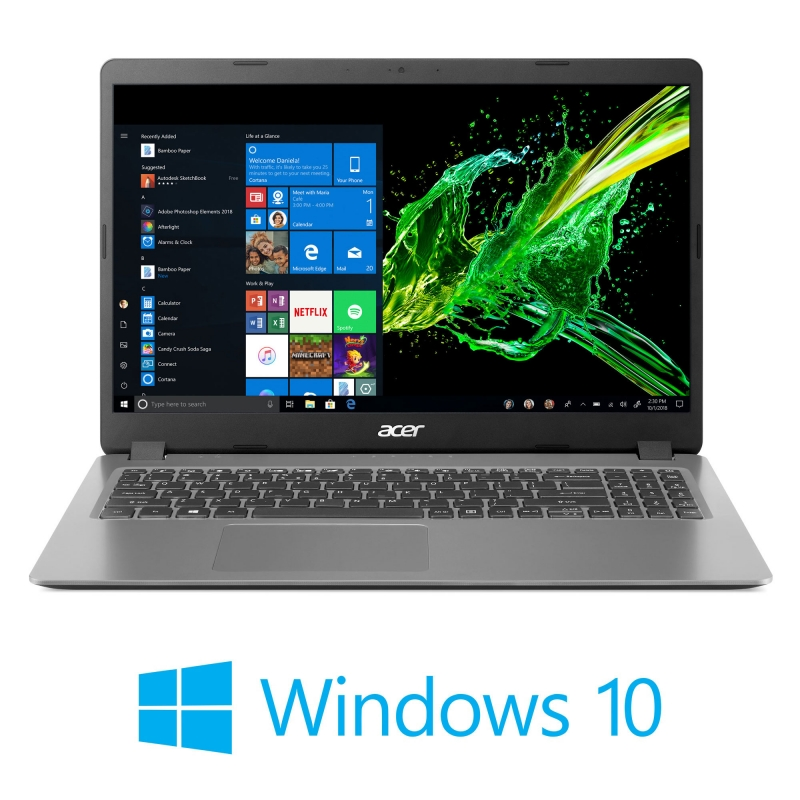 ihocon: Acer Aspire 3 15.6 全高清筆記本電腦(Intel i5-1035G1 / 8GB RAM / 256GB SSD / Windows 10)
