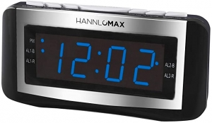 ihocon: HANNLOMAX HX-117CR Alarm Clock Radio, PLL AM/FM Radio 電子鬧鐘/收音機