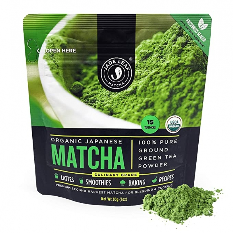 ihocon: Jade Leaf Organic Matcha Green Tea Powder, 30 g (1 oz) 有機抹茶粉
