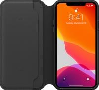 ihocon: Apple Leather Folio for iPhone 11 Pro Max皮質手機套