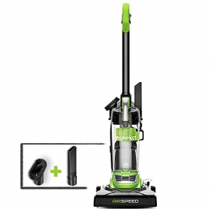 ihocon: Eureka NEU100 Airspeed Ultra-Lightweight Compact Bagless Upright Vacuum Cleaner, Lime Green   超輕無袋直立式吸塵器