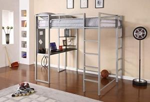 DHP Adobe Loft Bed 高架床 $203.15免運(原價$349)