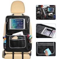 ihocon: GEMITTO Car Back Seat Protector, Waterproof 防水汽車椅背收納及防踢袋