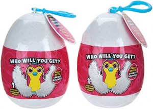 ihocon: The Wish Factory Hatchimals Backpack Clip Keychain, 2-Pack 背包鑰匙扣