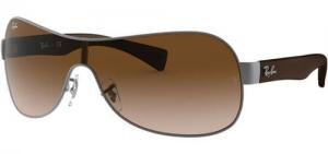 ihocon: Ray-Ban雷朋 Pilot/Wrap Hybrid Sunglasses w/ Gradient Shield Lens - RB3471 太陽眼鏡