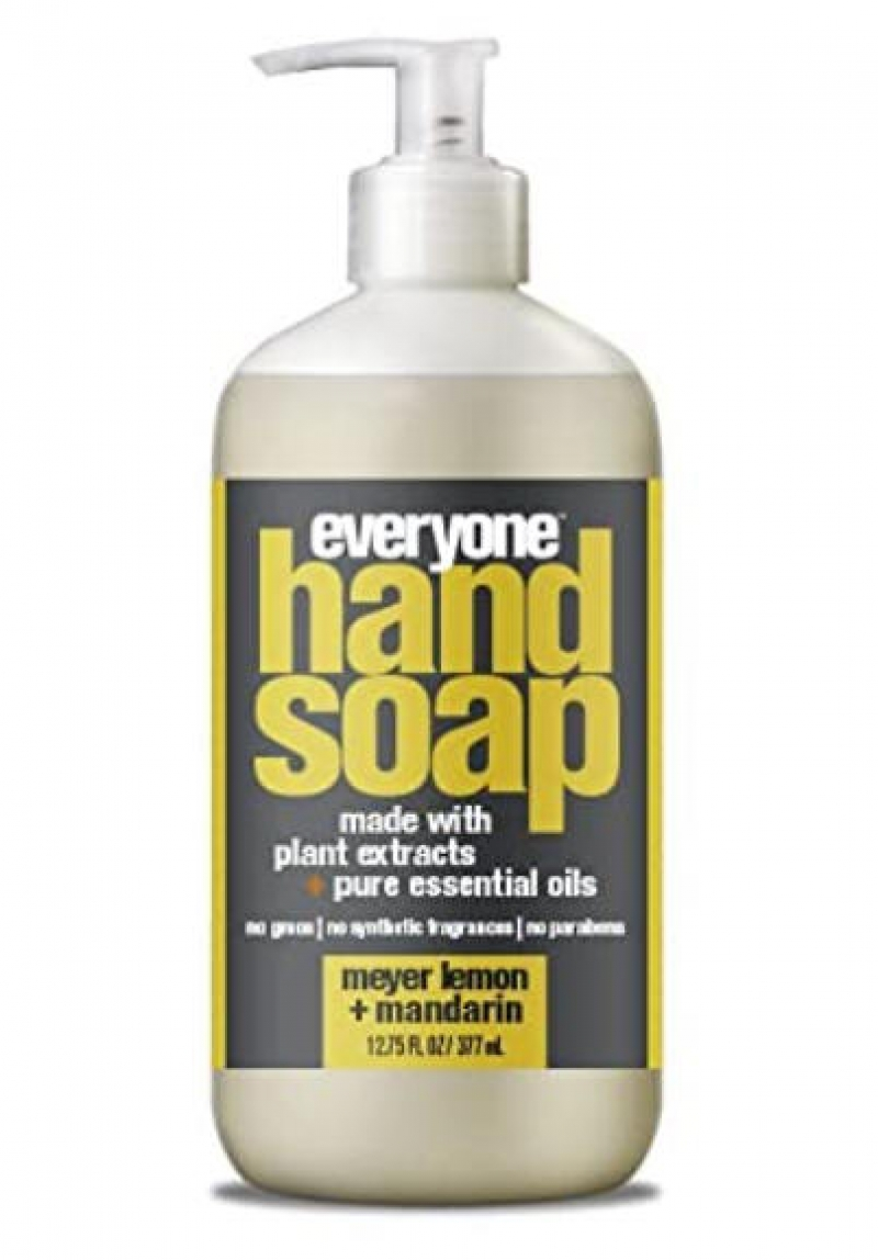ihocon: Everyone Hand Soap, Meyer Lemon plus Mandarin, 12.75oz 洗手液皂