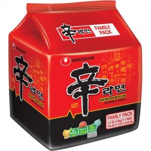 ihocon: Nongshim Shin Ramyun Gourmet Spicy Noodle Soup, 4.2 oz (12 Pack)辛拉麵