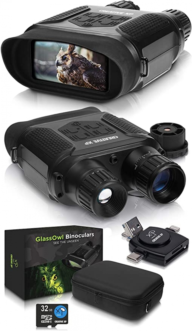 ihocon: CREATIVE XP Digital Night Vision Binoculars for Complete Darkness 電子夜視望遠鏡