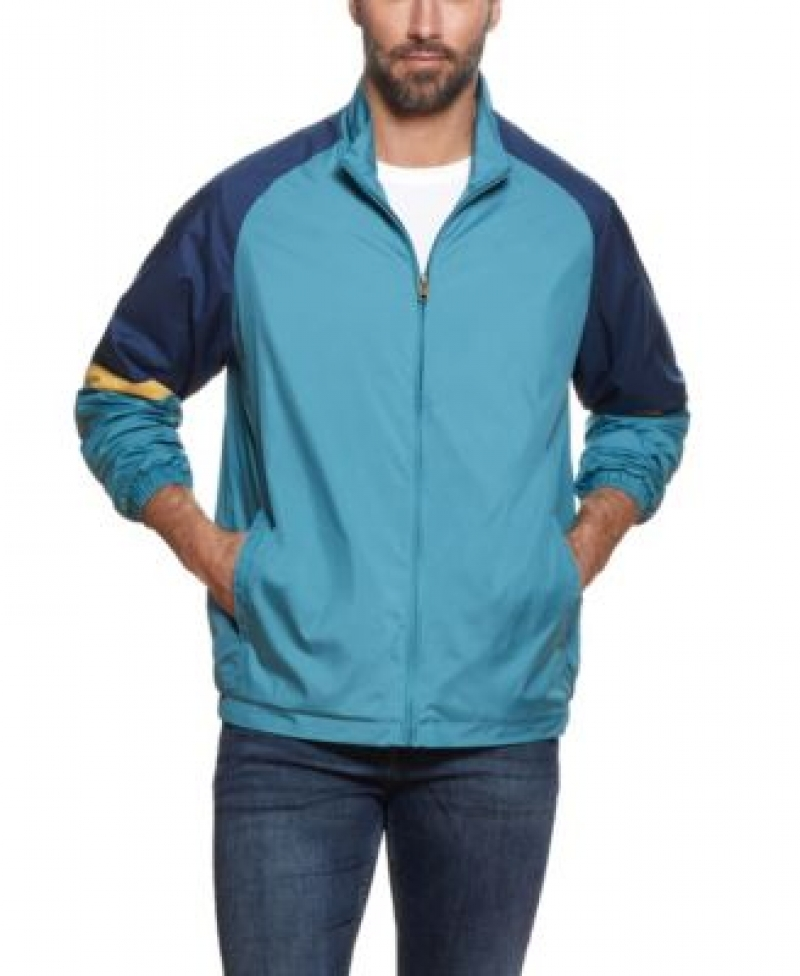 ihocon: Weatherproof Vintage Men's Full Zip Color Block Jacket 男士夾克