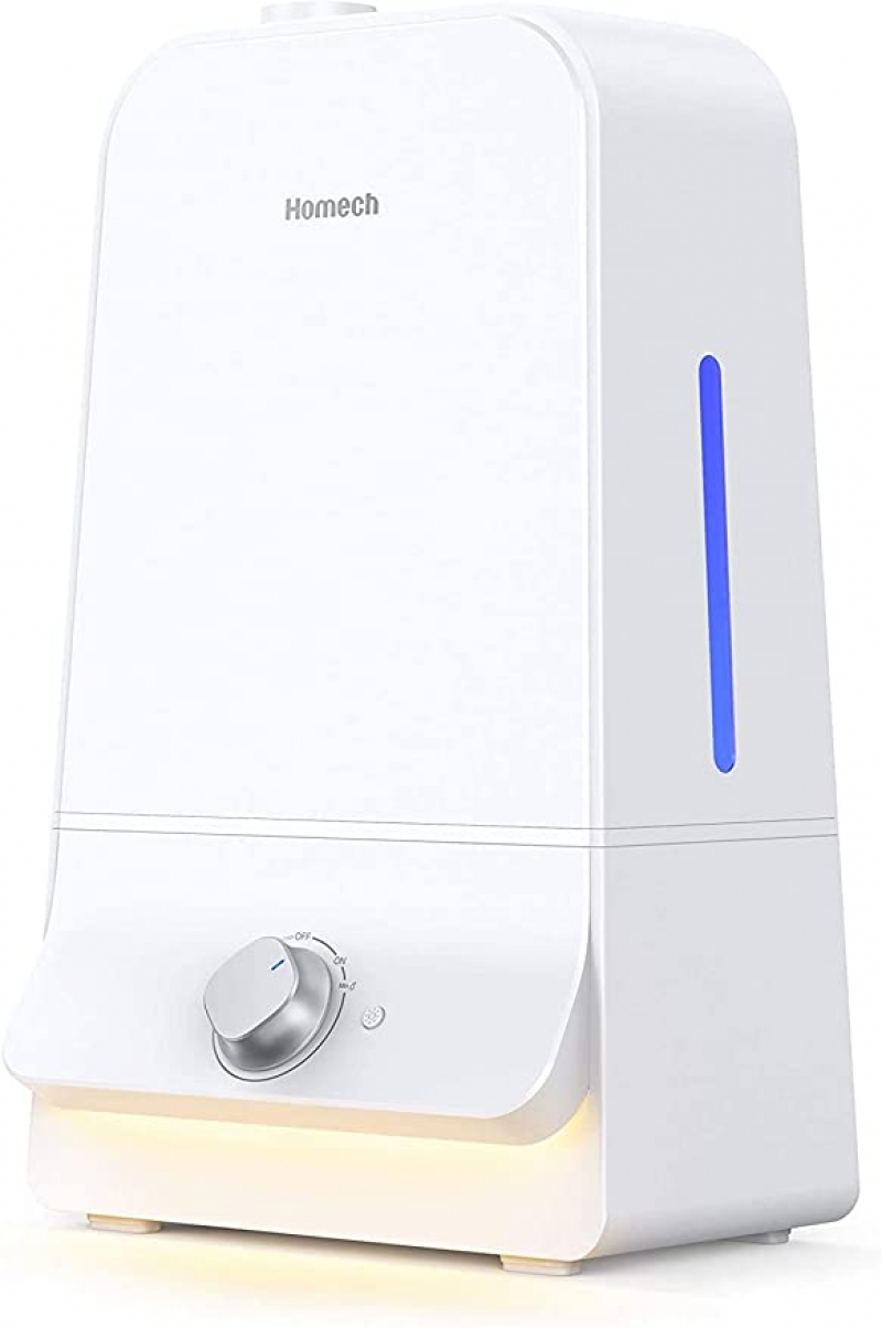 ihocon: Homech Cool Mist Humidifier 6L for Large Bedroom 超音波室內加濕器