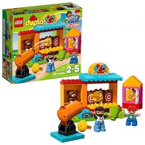ihocon: [適合2-5歲] LEGO樂高積木Duplo Town 6175777 Duplo Shooting Gallery 10839