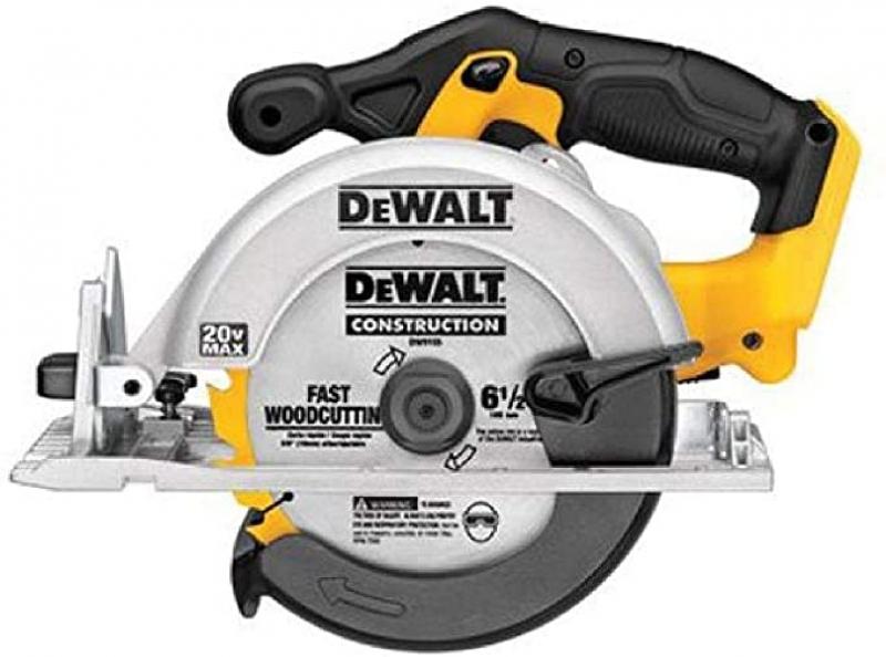 ihocon: DEWALT 6-1/2-Inch 20V MAX Circular Saw, Tool Only 無線電動圓鋸(工具only)