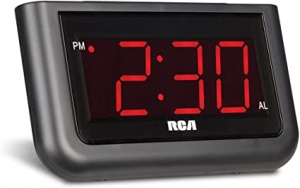 ihocon: RCA Digital Alarm Clock 電子鬧鐘