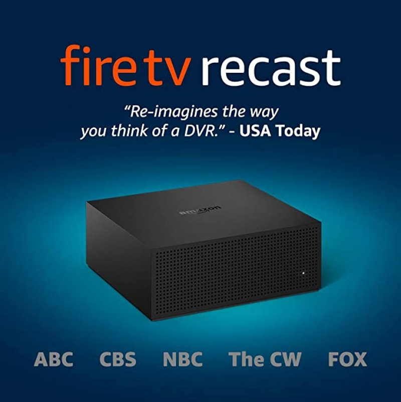ihocon: Fire TV Recast, over-the-air DVR, 500 GB, 75 hours, DVR for cord cutters 電視節目側錄裝置