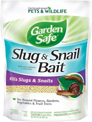 ihocon: Garden Safe 4536 Slug & Snail Bait (HG-4536) (2 lb), Case Pack of 1, Brown/A   鼻涕蟲及蝸牛餌(可用於菜園)
