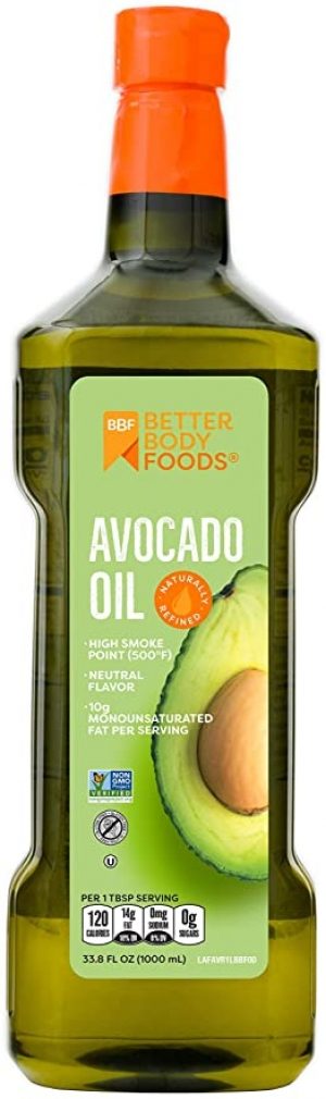 Betterbody Foods Avocado Oil 酪梨油 1L (33.8oz) $11.34