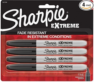 ihocon: SHARPIE Extreme Permanent Markers 4枝