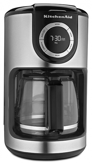 ihocon: KitchenAid KCM1202OB 12-Cup Glass Carafe Coffee Maker  咖啡機