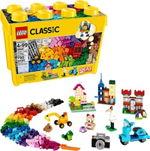 ihocon: LEGO Classic Large Creative Brick Box 10698 Build Your Own Creative Toys, Kids Building Kit (790 Pieces)