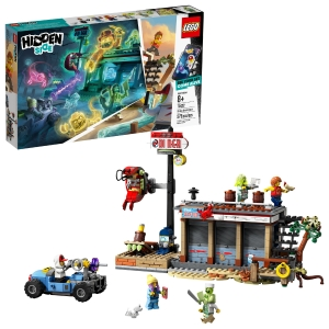 ihocon: 樂高積木LEGO Hidden Side Shrimp Shack Attack 70422 (579 Pieces) + $10 Walmart Gift Card