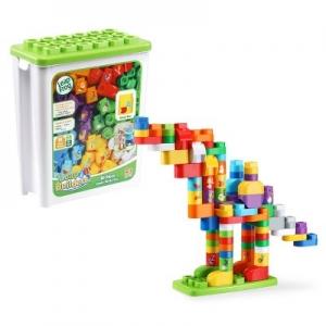 ihocon: LeapFrog LeapBuilders 81pc Jumbo Blocks Box 大型組合積木