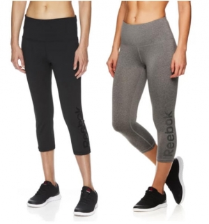 ihocon: Reebok Team Highrise 女士Capri Leggings - 2色可選