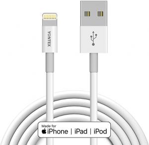 ihocon: YONTEX Lightning Cable 6. 6 ft iPhone充電線