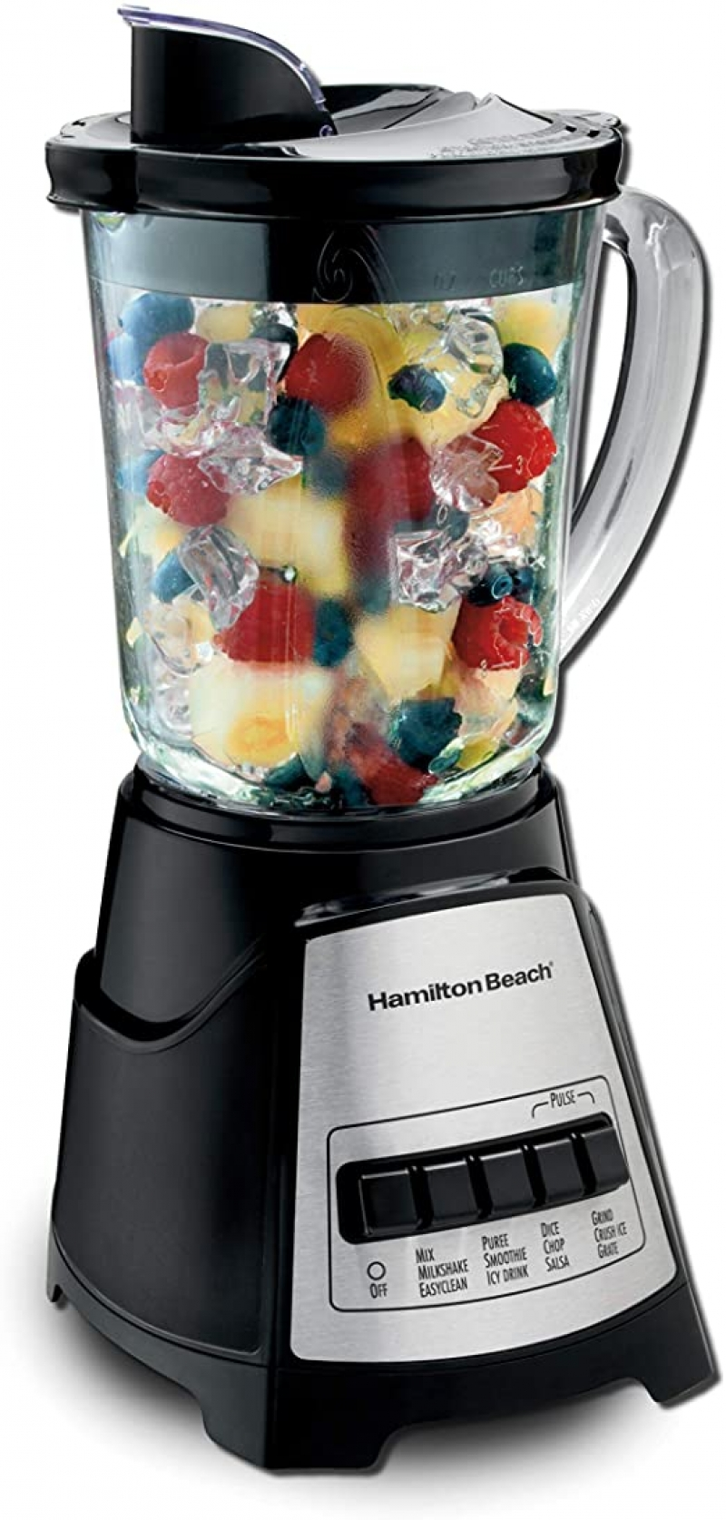 ihocon: Hamilton Beach Power Elite Blender with 12 Functions 破冰攪拌機
