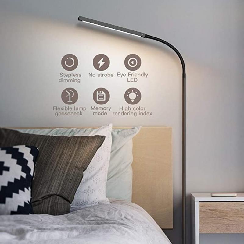 ihocon: dodocool Adjustable 2-in-1 Multifunctional LED Floor & Desk Lamp 落地燈/桌燈