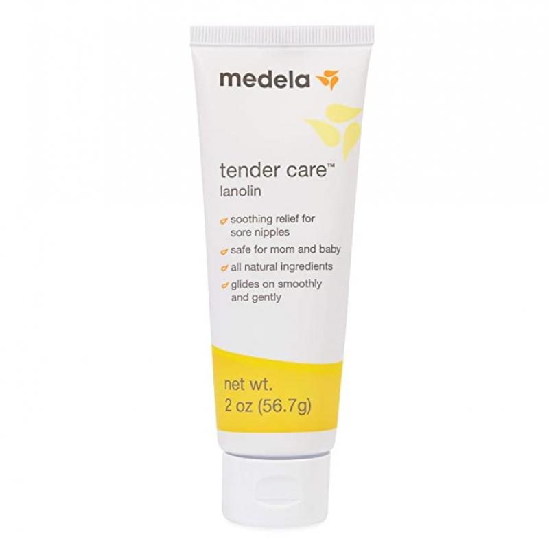ihocon: [餵母奶保養]Medela Lanolin Nipple Cream for Breastfeeding, All-Natural 2 oz天然乳頭霜