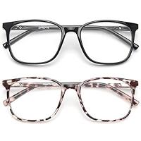 ihocon: Gaoye 2 Pack Blue Light Blocking Glasses 抗藍光眼鏡 2副