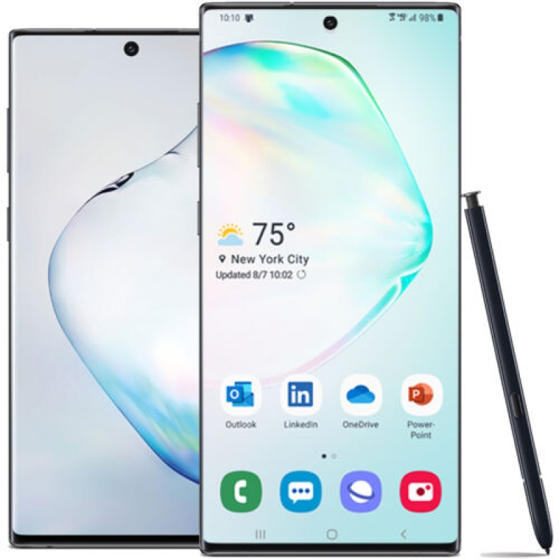 ihocon:  Samsung Galaxy Note10+ Plus 6.8 512GB 4G LTE Factory Unlocked GSM & CDMA Android Smartphone 手機