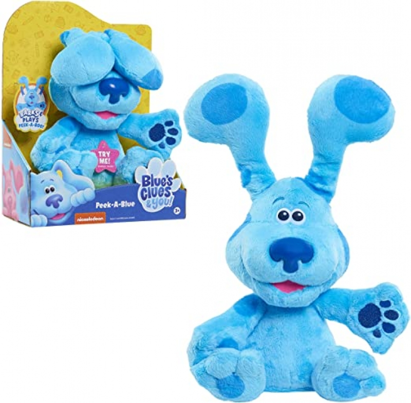 Blue's Clues & You! Peek-A-Blue 10吋絨毛玩具 $18.88(原價$24.99)