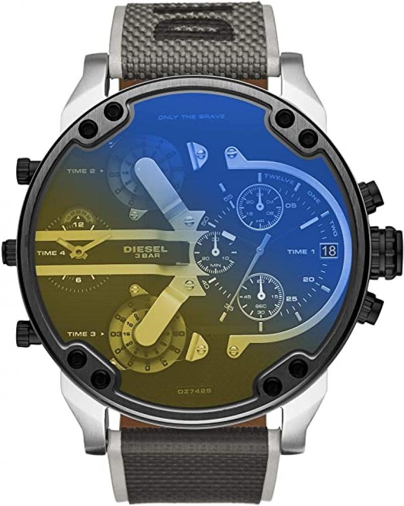 ihocon: Diesel Men's Mr. Daddy 2.0 Stainless Steel Chronograph Quartz Watch 男錶