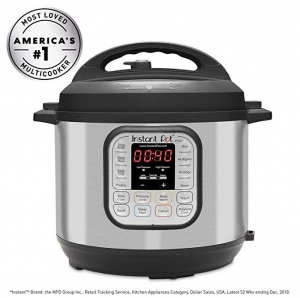 ihocon: Instant Pot DUO60 6 Qt 7-in-1 Multi-Use Programmable Pressure Cooker多功能電壓力鍋