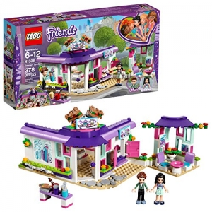 ihocon: LEGO Friends Emma's Art Café 41336 Building Set (378 Piece)