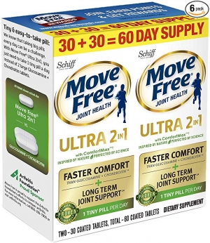 [關節保養] Schiff Schiff Move Free Ultra 2 in 1 6組 $113.45, 算起來一組才$18.9