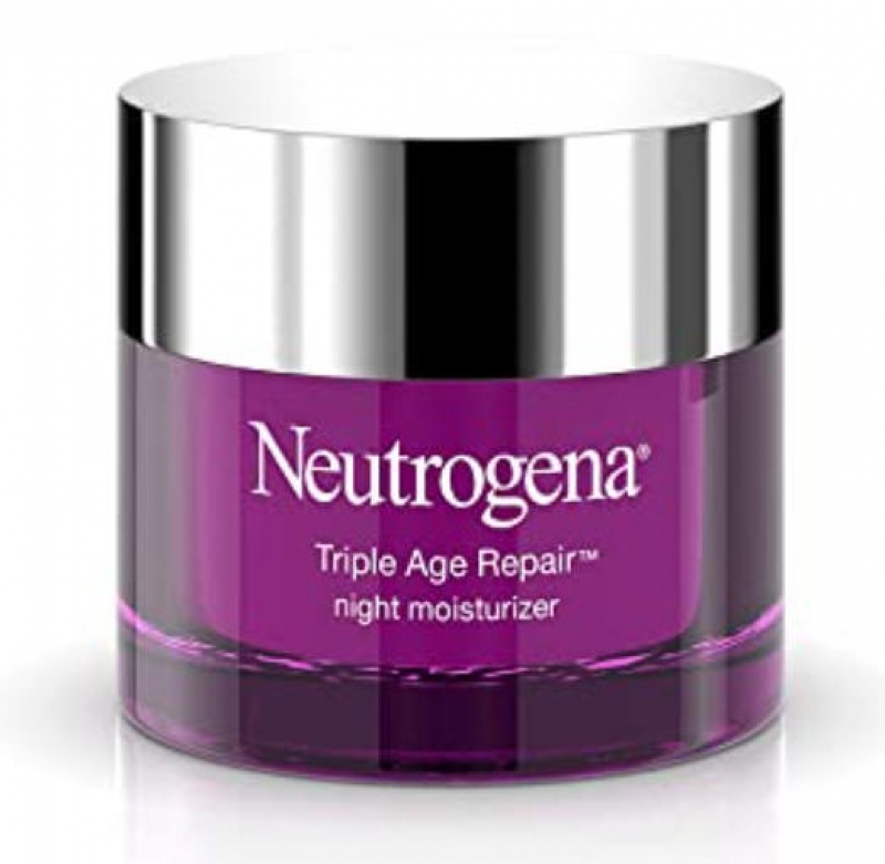 ihocon: Neutrogena Triple Age Repair Anti-Aging Night Cream with Vitamin C, 1.7 oz 露得清三重年齡修復抗衰老晚霜