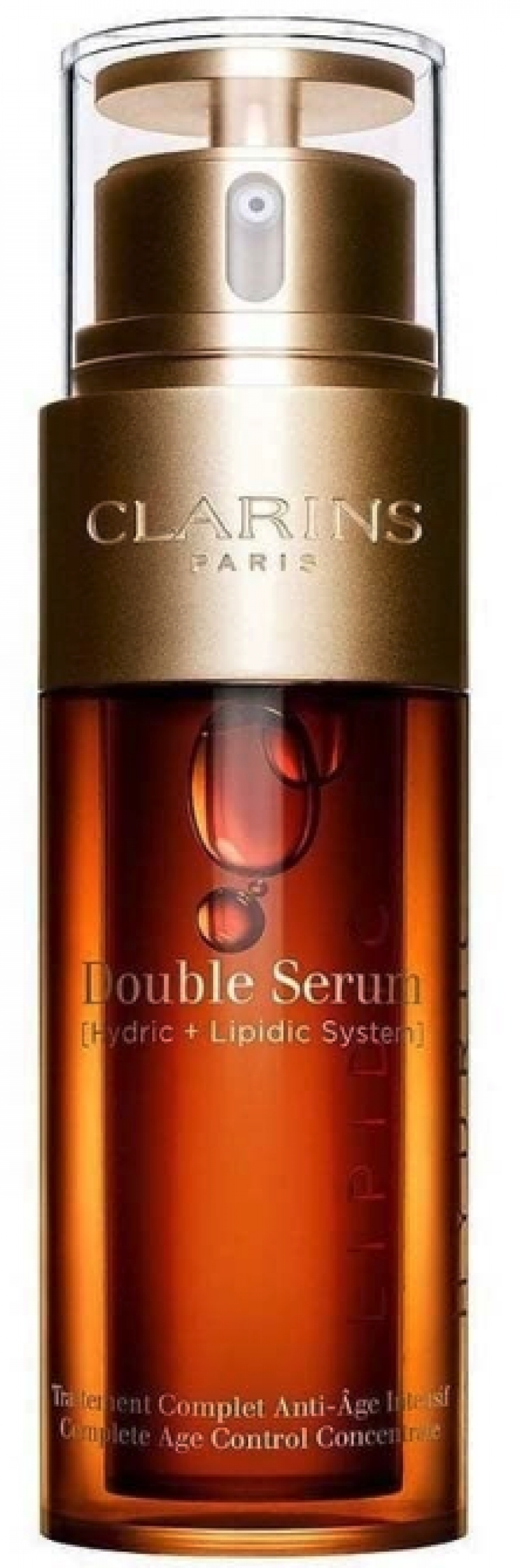 ihocon: Clarins Double Serum Complete Age Control Concentrate, 1.6 Oz 克蘭詩超級精華-黃金雙激萃