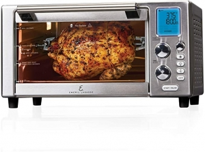 "ihocon: Emeril Everyday 360 Deluxe Air Fryer Oven, 15.1"" x 19.3"" x 10.4"" with Accessory Pack 氣炸烤箱"