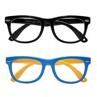 ihocon: Upsmile Kids Blue Light Blocking Glasses, 2 Pack 兒童抗藍光眼鏡 2副-多色可選
