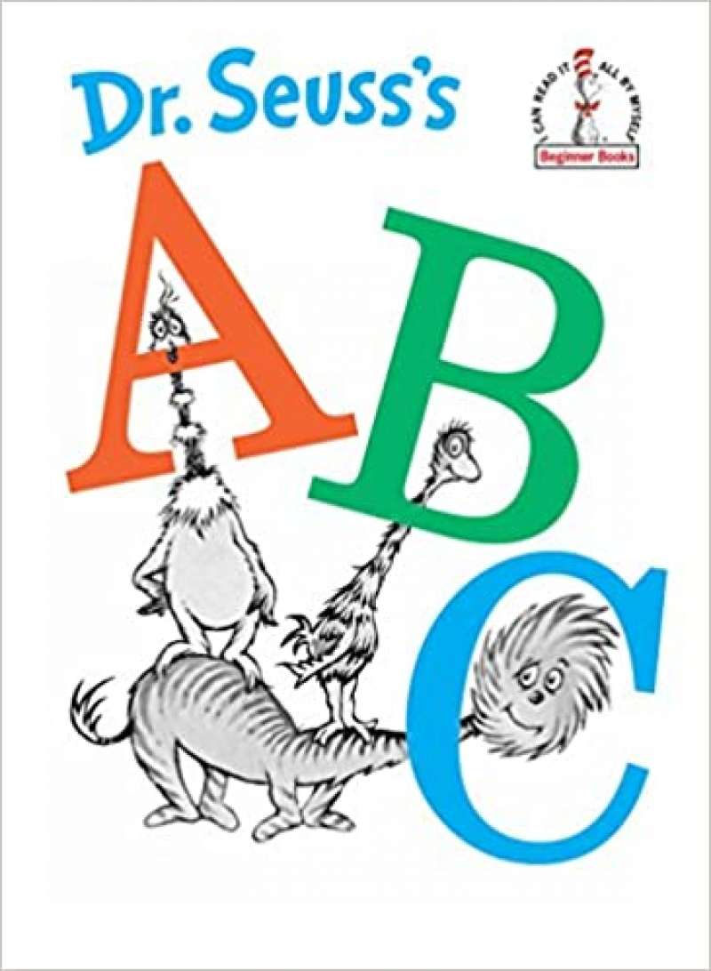 ihocon: 精裝本(Hardcover)童書: Dr. Seuss's ABC (Beginner Books, I Can Read It All By Myself)
