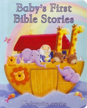 ihocon: Baby's First Bible Stories 嬰兒的第一個聖經故事書